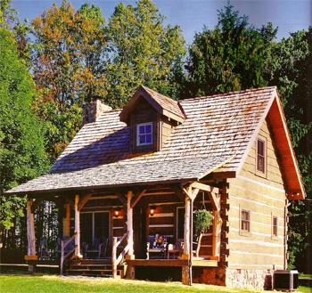 Новый взгляд на архитектурно простой дом